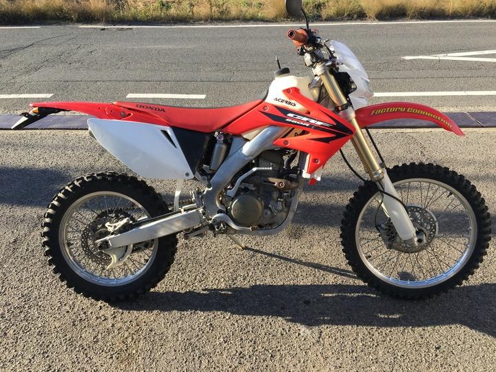 バイク買取 岡山 CRF250R